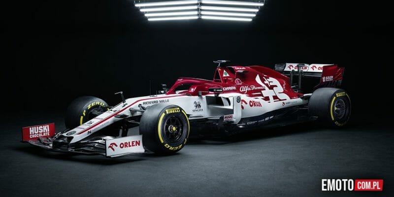 bolid C39 Alfa Romeo Racing Orlen