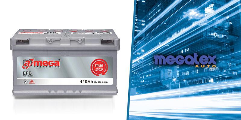 Akumulatory AMEGA Megatex