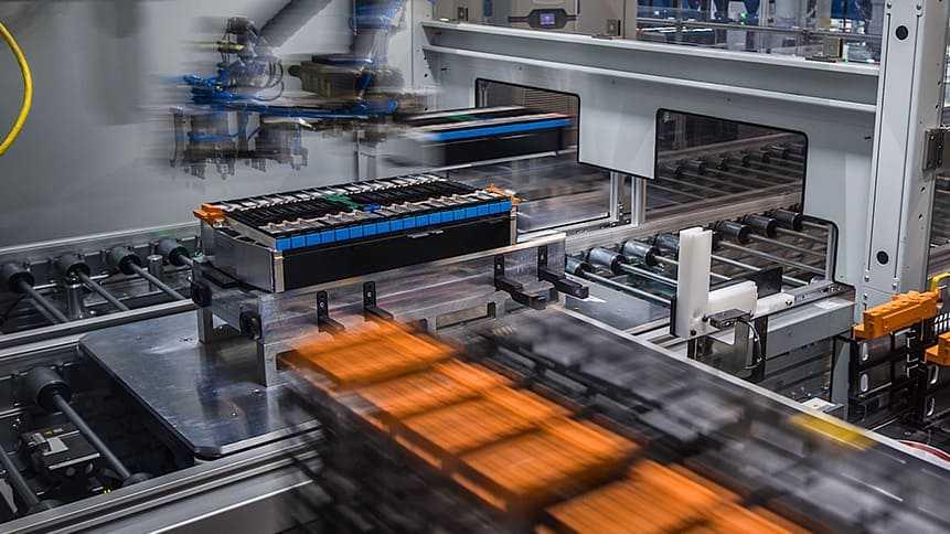 Produkcja akumulatorów BMW w Chinach