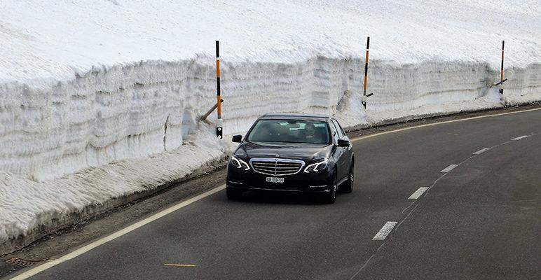 Jazda samochodem zimą
