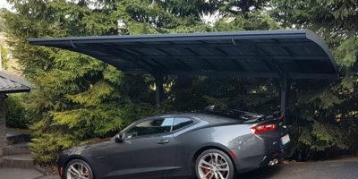 budową wiaty garażowej