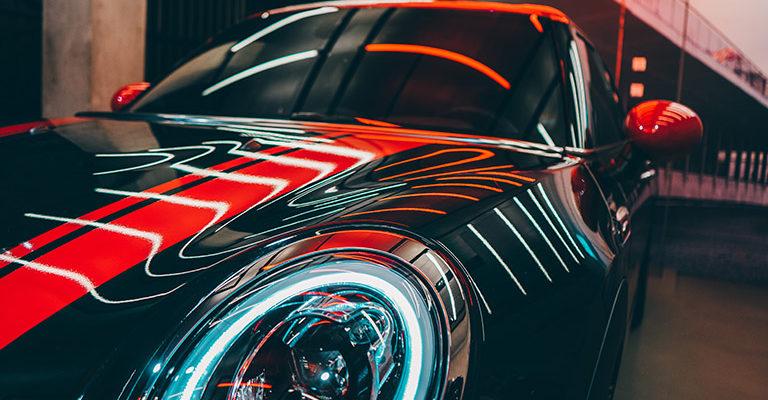 Samochód po pielęgnacji kosmetykami samochodowymi marki AutoGlym
