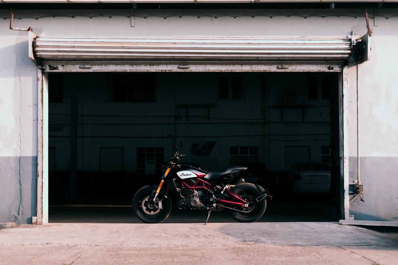Garaż do motocykli