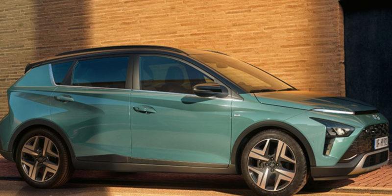 Hyundai Bayon na ulicy